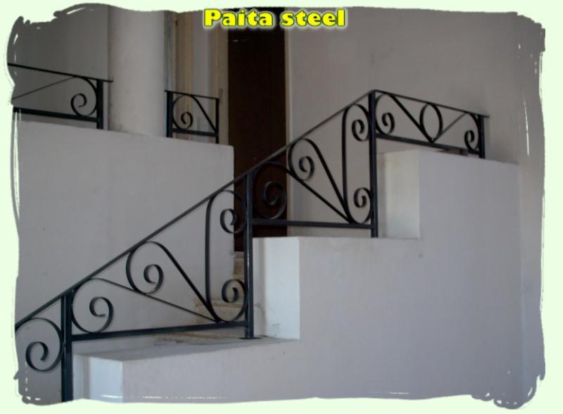Rampe d 39 escalier for Peinture pour fer forge